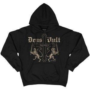 7.62 Survêtement à capuche design Deus Vult Noir