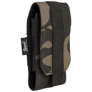 Brandit MOLLE Phone Pouch Medium Dark Camo