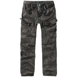 Brandit Pantalon Adven à coupe ajustée Dark Camo