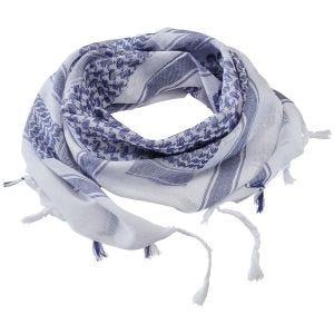 Brandit Écharpe Shemag bleue/blanche