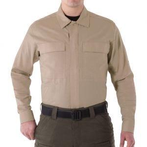 First Tactical T-shirt à manches longues pour homme BDU V2 kaki
