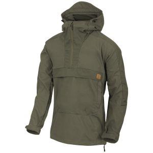 Helikon Woodsman Anorak Jacket Taiga Green