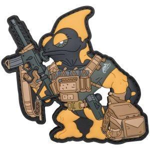 Patchlab Écusson Chameleon Firearm Instructor noir/jaune