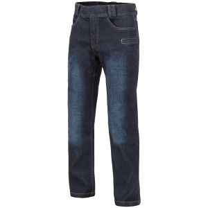 Helikon Jean tactique Greyman en denim Mid Dark Blue