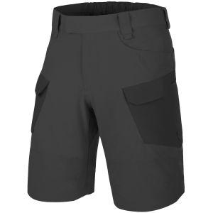 """Helikon Short tactique Outdoor 11"""" en tissu VersaStretch Lite Ash Grey / Black"""