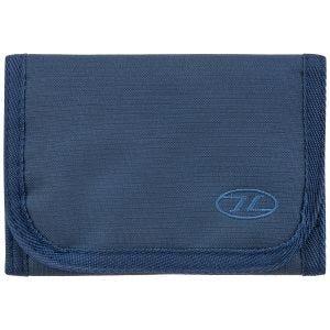 Highlander Portefeuille Shield RFID - Bleu marine