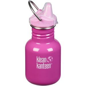 Kid Kanteen Gourde 355 ml avec bouchon à bec Bubble Gum
