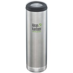 Klean Kanteen Gourde TKWide 591 ml isolante avec bouchon à anneau inoxydable brossé