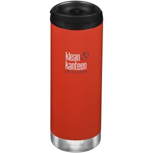 Klean Kanteen Gourde TKWide 473 ml isolante avec bouchon Café Post Box Red