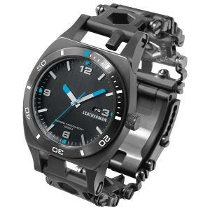 Leatherman Montre Tread Tempo noire