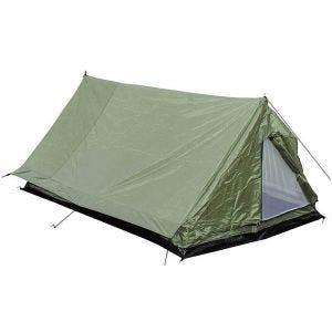 MFH Tente 2 personnes Minipack avec moustiquaire OD Green