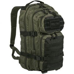 Mil-Tec Sac à dos US Assault MOLLE petite taille Ranger Green/Noir