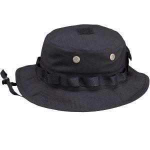 Pentagone Chapeau de brousse Ripstop noir