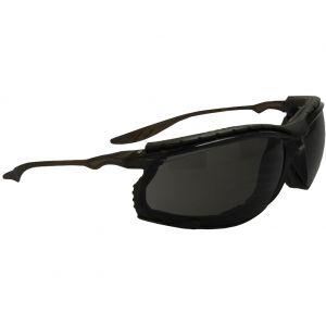 Swiss Eye Lunettes de soleil Sandstorm à monture noire/verres fumés
