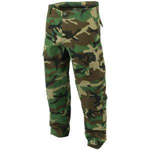 Teesar Pantalon de combat ACU Woodland