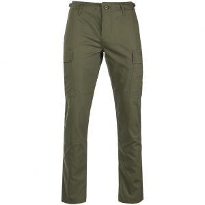 Teesar Pantalon US BDU en Ripstop SlimFit vert olive