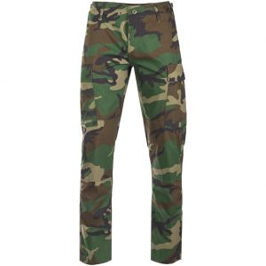 Teesar Pantalon US BDU en Ripstop SlimFit Woodland
