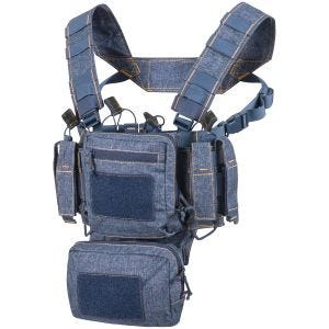 Helikon Gilet de combat Training Mini Rig Melange Bleu