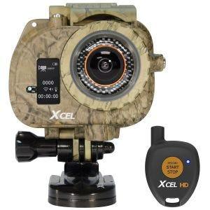 Xcel Caméra HD édition spéciale chasse couleur carbone