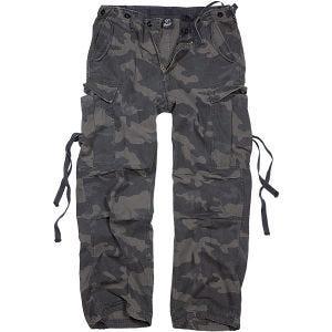 Brandit Pantalon M-65 Vintage Dark Camo