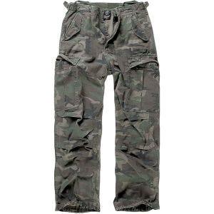 Brandit Pantalon M-65 Vintage Woodland
