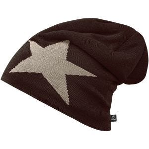 Brandit Bonnet Star Cap marron chocolat