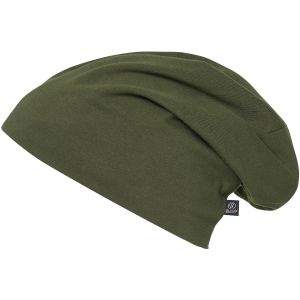 Brandit Bonnet uni Jersey vert olive