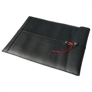 """Civilian Housse en cuir pour MacBook 13"""" Manila-13 noire"""