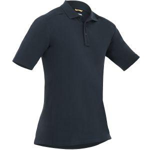 First Tactical Polo homme à manches courtes en coton avec poche pour stylo Midnight Navy