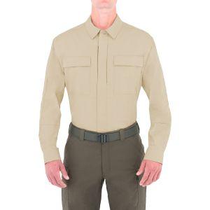 First Tactical T-shirt à manches longues pour homme Tactix BDU kaki