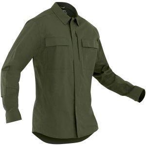 First Tactical T-shirt à manches longues pour homme Tactix BDU OD Green