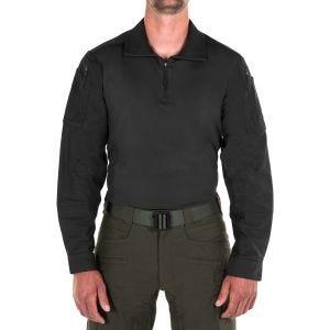 First Tactical T-shirt à manches longues pour homme Defender noir