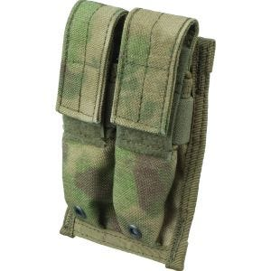 Flyye Porte-chargeur double 9 mm MOLLE A-TACS FG