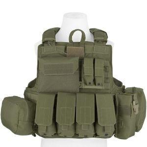 Flyye Gilet tactique Force Recon avec poches ver. Mar Ranger Green