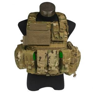 Flyye Gilet tactique Force Recon avec poches ver. Land MultiCam