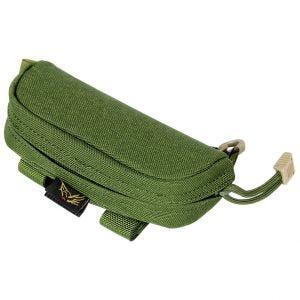 Flyye Étui à lunettes vert olive