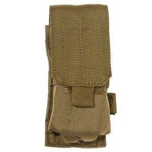 Flyye Porte-chargeur simple MOLLE pour M4/M16 Coyote Brown