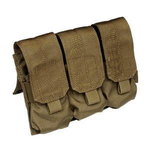 Flyee Porte-chargeur triple M4/M16 MOLLE Coyote Brown