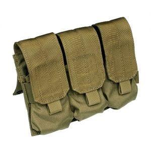 Flyee Porte-chargeur triple M4/M16 MOLLE kaki