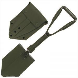 MFH Pelle pliable German Army avec étui vert olive