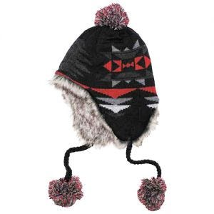 Fox Outdoor Bonnet péruvien Peru Ica noir/rouge
