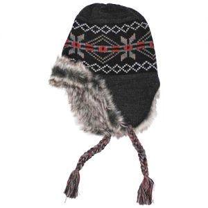 Fox Outdoor Bonnet péruvien Peru Puno noir/gris