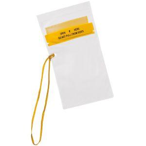 Fox Outdoor Petite pochette imperméable pour documents transparente