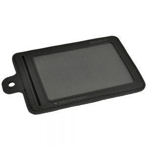 Hazard 4 Petit porte-carte d'identité 3D à velcro noir