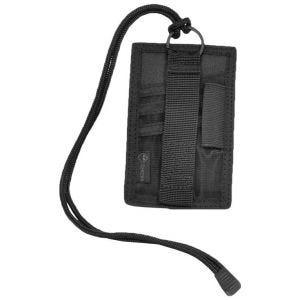 Hazard 4 Porte-carte d'identité à scratch Badger noir