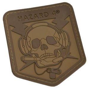 Hazard 4 Écusson 3D à tête de mort Coyote