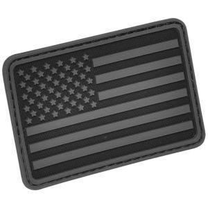 Hazard 4 Écusson pour bras gauche drapeau des USA noir