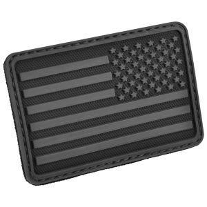 Hazard 4 Écusson pour bras droit drapeau des USA noir