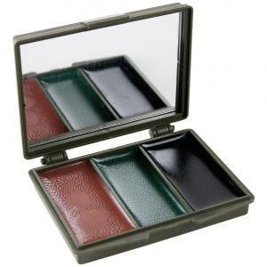 Helikon Maquillage de camouflage 3 couleurs pour le visage/avec miroir