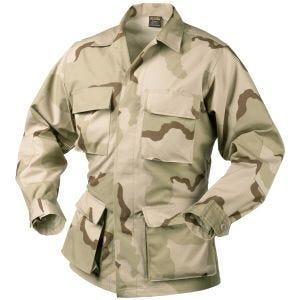Helikon Véritable chemise BDU en coton Ripstop Desert tricolore